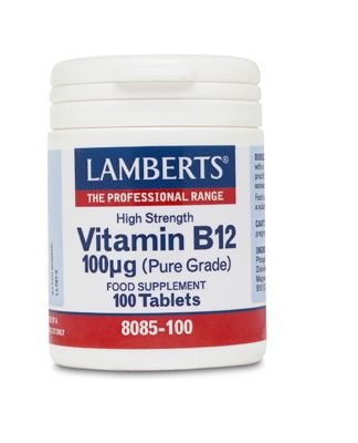 La vitamina B12 Lamberts es un complemento alimenticio a base de Vitamina B12.