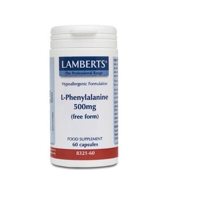 La L-Fenilalanina es un aminoácido esencial que actúa como precursor de serotonina, la dopamina y la norepinefrina. Es común su uso como energético o para dolores articulares.