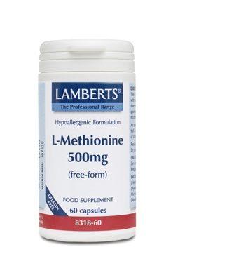 La Metionina es un aminoácido esencial azufrado que se convierte en el organismo en cisteína, carnitina, glutationa, taurina y ácidos nucléicos.