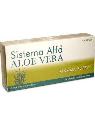 Aloe vera con acción cicatrizante,antiséptico y antiinflamatorio.Excelente en el ámbito intestinal.