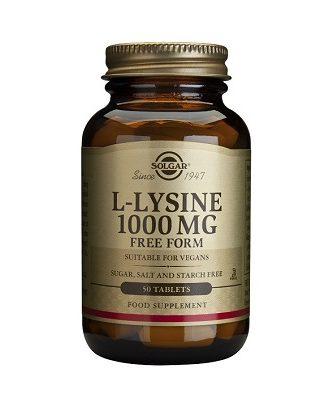 La L-Lisina es un aporte fundamental para el crecimiento y reparación de los tejidos y la producción de hormonas, enzimas y anticuerpos. También se recomienda por sus beneficios en tratamientos contar virus del herpes.Se encuentra abundantemente en el tejido muscular.