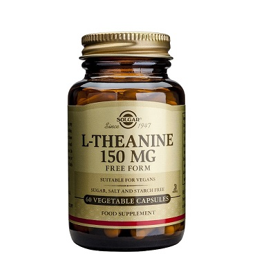 L-Teanina Solgar es un complemento alimenticio a base de L-Teanina en forma libre de fácil absorción.