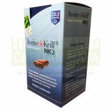 ACEITE DE KRILL NKO 100% NATURAL es un complemento alimenticio y una fuente importante de fosfolípidos, rico en dos ácidos grasos poliinsaturados Omega 3: EPA y DHA. Además cuenta con una destacada cantidad de colina y astaxantina.