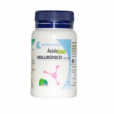 ACIDO HIALURONICO MGDAcido Hialuronico MGD es un complemento alimenticio a base de Acido Hialurónico que contribuye a hidratar y dar volumen a la piel, así como a mejorar la movilidad de las articulaciones.