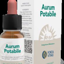 Aurum Potabile Forza Vitale es un complemento alimenticio a base de extractos de Uña de Gato, Corteza de Anís, Hinojo y Aromas Naturales.