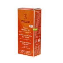 Aceite masaje con arnica Weleda a base de extractos biológicos de árnica, planta conocida por sus extraordinarias propiedades medicinales, este aceite de masaje es ideal antes y después del ejercicio.