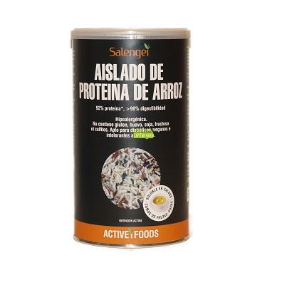 Aislado de proteína de arroz Salengei es un aislado vegetal de proteína procedente de arroz.