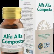 Alfa Alfa Composta Forza Vitale es un complemento alimenticio a base de Mijo que favorece la remineralización del organismo.