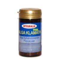 Alga Klamath integralia es un complemento alimenticio que ayuda a aumentar la energía y vitalidad gracias a su aporte de fitonutrientes.