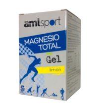 Magnesio total Gel Limon Amlsport Ana María Lajusticia es un complemento alimenticio a base de Magnesio.