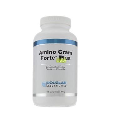 AMINO GRAM FORTE PLUS DOUGLASAmino Gram Forte Plus Douglas es un complemento alimenticio a base de una mezcla equilibrada nutricionalmente de aminoácidos no esenciales, esenciales, semiesenciales, en sus formas fisiológicamente activas (formas L-).