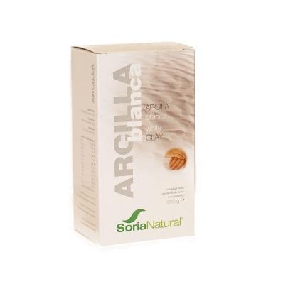 Arcilla Blanca Soria Natural es un producto puro, con poder antioxidante y depurativo. Actúa contra las impurezas tanto de forma interna como externa.