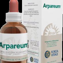 Arpareum Forza Vitale es un complemento alimenticio a base de Harpagofito y Ulmaria que favorece el bienestar del sistema esquelético.