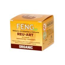 BALSAMO ARETEMISA Y CURCUMA FENG REU-Art es un activador energizante y tonificante a base de urgüento balsámico para masaje en zonas focalizadas. Elimina el exceso de humedad corporal.