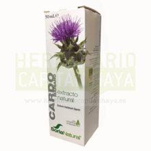 CARDO MARIANO SORIA NATURAL es un complemento alimentico a base de extracto liofilizado de Cardo Mariano.