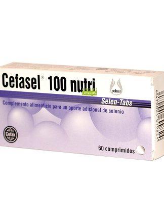 Cefasel 100 Nutri es un complemento alimenticio a base de Selenio.