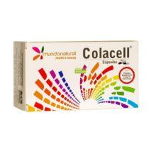 COLACELL CAPSULAS MUNDONATURAL es un complemento alimenticio a base de colágeno, plantasm MSM,Vitamina,Hialuronato sódico y Selenio.