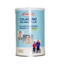 Colageno Integralia Sabor Neutro es un complemento alimenticio a base de colágeno hidrolizado, ácido hialurónico, magnesio y Vitamina C.