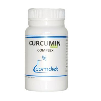 Curcumin Complex Comdiet es un complemento alimenticio indicado en procesos inflamatorios articulares ( artrosis, Artritis, Tendinitis) Regenerador del cartílago articular.