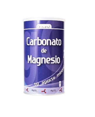 Carbonato de magnesio Drasanvi es un complemento alimenticioa base de magnesio.