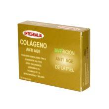 Colageno Anti Age Integralia es un complemento alimenticio como nutrición anti-edad de la piel.
