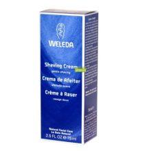 Crema de Afeitar Weleda para el afeitado manual. Produce una espuma fina que permite un afeitado suave y apurado.