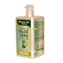 Crema Complex Aloe Vera 1 litro Shova De con agua de manantial que hidrata y favorece la regeneración de la piel.