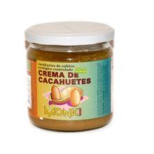 Crema de cacahuetes Monki es una deliciosa crema de cacahuetes de cultivo ecológico controlado.
