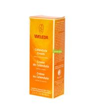 Crema de Calendula Weleda a base de extracto de flor de Caléndula constiyuye un cuidado esencial para toda la familia, para cara y cuerpo.