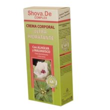 Crema Corporal Ultrahidratante Shova De Complex tiene las cualidades de hidratante y ultra-hidratante especial para pieles sensibles y reactivas.
