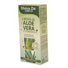 El Crema Aloe Vera Vitaminada Shova De tiene las cualidades de hidratante y ultra-hidratante especial para pieles sensibles y reactivas.