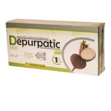 Depurpatic Pinisan es un complemento alimenticio a base de extractos de plantas, vitaminas y minerales.