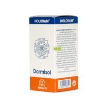 Dormisol Holoram Equisalud es un complemento alimenticio a base de inositol, plantas, aminoácidos, vitaminas y minerales.