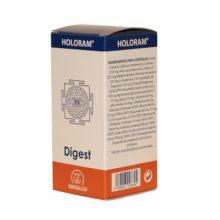 Digest Holoram Equisalud es un complemento alimenticio a base de plantas, aminoácidos, enzimas, vitaminas y minerales. Restaura, mantiene y promueve el equilibrio energético de las funciones digestivas.