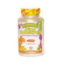 Dino Colostrum Kal es un complemento alimenticio a base de calostro (leche) de agradable sabor a chocolate.