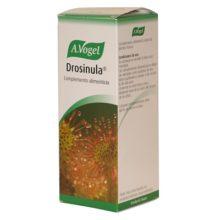 Drosinula A.Vogel es un complemento alimenticio a base de plantas frescas. Contiene jugo de pera y extractos de abeto y drosera que ayuda a calmar la tos, la bronquitis, ronquera, estimnula la espectoración, antibacteriano, asma bronquial.
