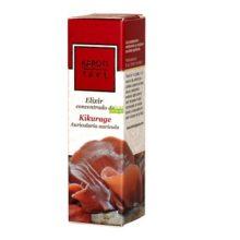 Elixir Kikurage Karoti Take Hiranyagarba es un complemento alimenticio a base de extracto de hongo Kikurage y Shatavari marrón, Arroz y Col Blanca combinado con Aceite de Germen de Trigo, extractos de plantas y aceites esenciales.