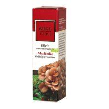 Elixir Maitake Karoti Take Hiranyagarba es un complemento alimenticio a base de extracto de hongo Maitake y Usnea, Arroz y Lombarda combinado con Aceites Virgen de Nuez, extractos de plantas y aceites esenciales.