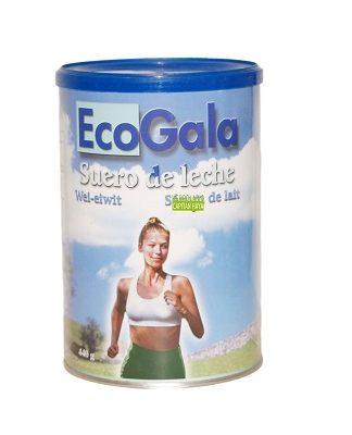 Eco Gala Suero de Leche es un compemento alimenticio con alto contenido en minerales como calcio, fósforo y magnesio.