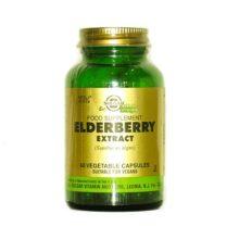 Elderberry Extracto Solgar es un complemento alimenticio a base de extracto de Sauco (Cambucus Nigra).