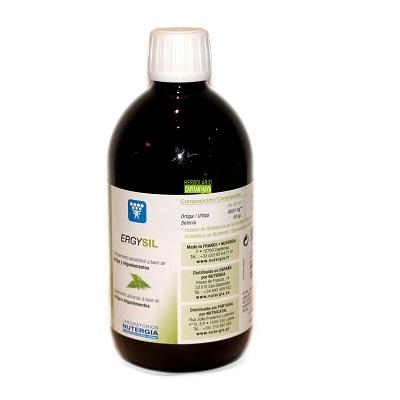 Ergysil Nutergia es un complemento alimenticio a base de Ortiga y Oligoelementos.
