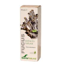 EXTRACTO FUCUS SORIA NATURAL es un complemento alimenticioelaborado con planta de excepcional calidad. La planta se presenta en forma de extracto liofilizado en glicerina vegetal y con ciclodextrinas de forma que mantienen sus principios activos y su eficacia es mayor.