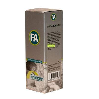 Fitoaroma 611 Erlingen es un complemento alimenticio indicado en caso de abcesos, forúnculos, granos, adenopatías, linfadenitis, ganglios linfáticos inflamados, dermatitis, tiña, impétigo, líquen plano, pitiriasis, piel seca, xenodermia, arrugas.