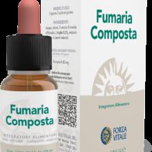 Fumaria Composta Forza Vitale es un complemento alimenticio a base de Fumaria y una mezcla de aromas naturales en gotas.