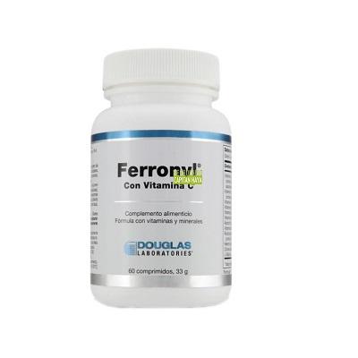 Ferronyl Douglas es un complemento alimenticio a base de hierro con vitamina C.