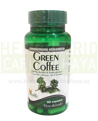 GREEN COFFEE DESCAFEINADO EL VALLE se obtiene a través de una cuidada combinación de extractos vegetales cuya base fundamental es el café verde.