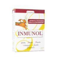 Inmunol viales Drasanvi es un complemento alimentício a base de hongos Reishi y Shitake, minerales como el Cobre y el Selenio, Vitamina C ,Tomillo, Echinacea y Própolis.