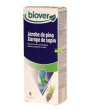Jarabe de pino Biover es un complemento alimenticio a base de extractos de plantas que tiene una acción benéfica sobre la garganta y el pecho. Esta fórmula con propóleo, aceites esenciales y extractos de plantas y yemas es ideal para tomar en los días fríos de invierno.