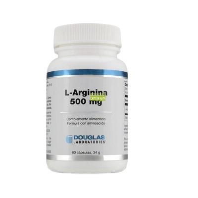 L-ARGININA DOUGLAS 500mg. 60 cápsulas