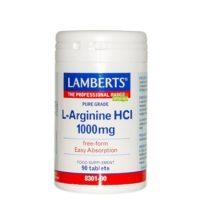 La L-Arginina es un aminoácido no esencial que forma parte en lasíntesis de creatina. Además estimula el sistema inmune, con la creación de leucocitos.